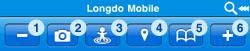Longdo Mobile Default Tab